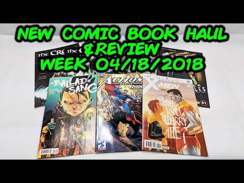 New Comic Book Haul and Review! Week Of 04/18/2018
