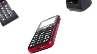 Produktvideo zu Seniorenhandy Emporia Telme C151 Rot