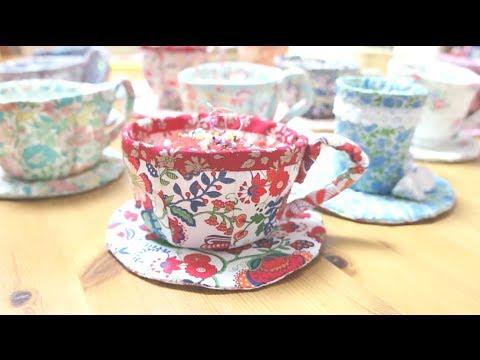 DIY Liberty Tea Cupㅣmadebyaya