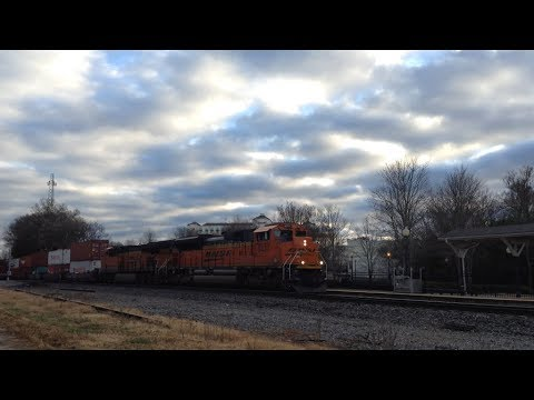Christmas Eve Railfanning in the Upstate of South Carolina