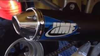 suzuki ltz 400 exhaust review