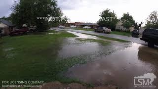 Aug 15 2017 Edmond OK Flash Flood