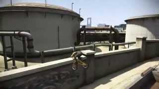 GTA 5 Лучшие трюки на BMX