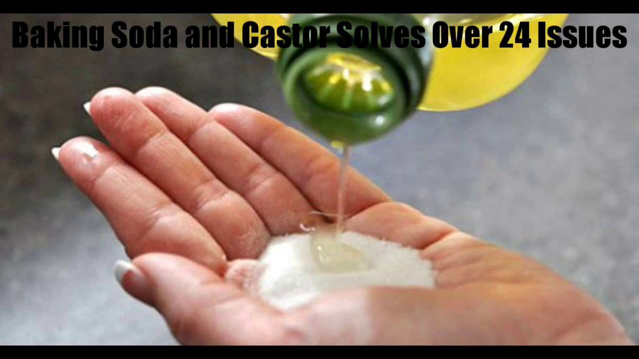 Baking Soda And Castor Solves Over 24 Issues Youtube