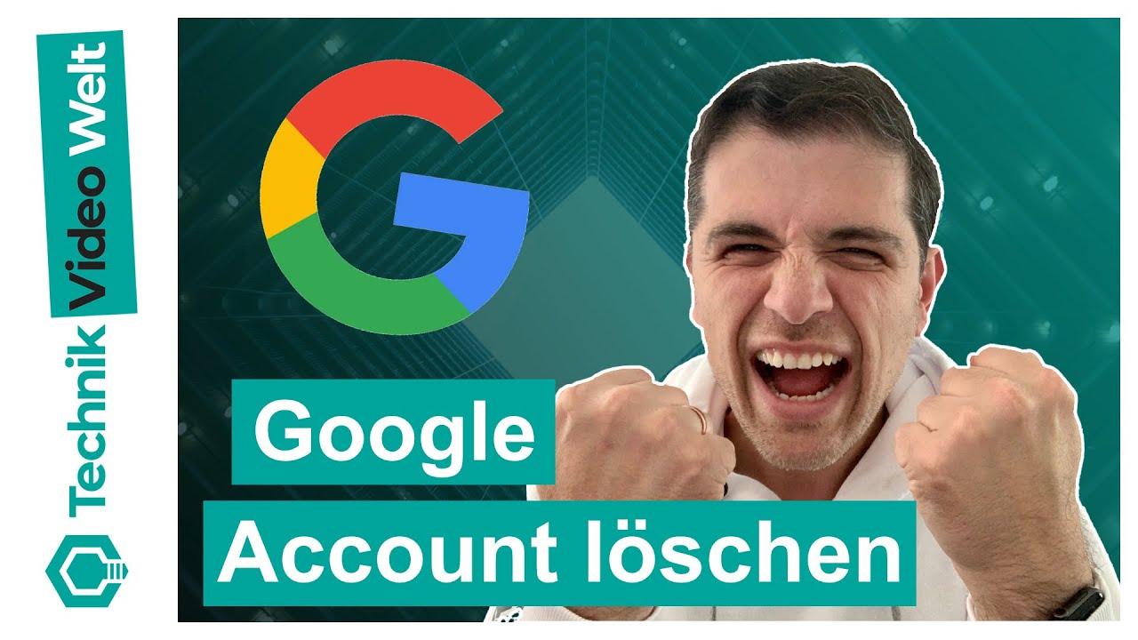 Google 🔍 Account löschen 2020 🧨 - YouTube