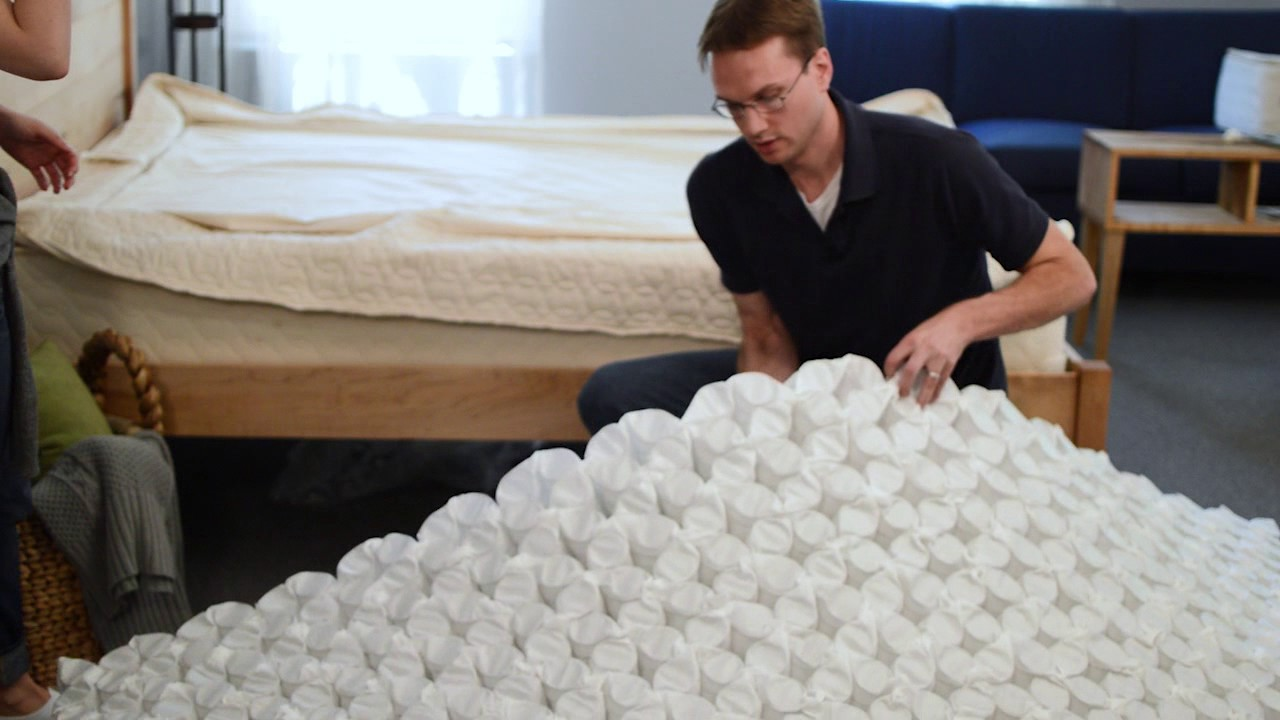 how to assemble your savvy rest serenityspring mattress youtube