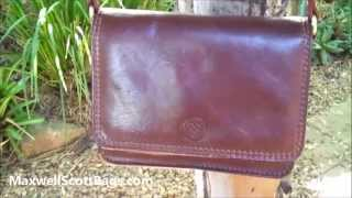 Ladies Leather Handbag Review for Travel - Maxwell Scott Bags