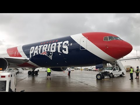 RARE Patriots 767 Arrival And More! (BUF) 9/28/19