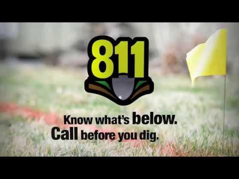 Call 811 Before You DIY!