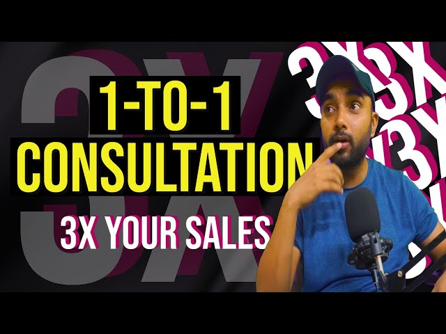 One-to-one consultation funnel (How it works) | Powerful sales technique