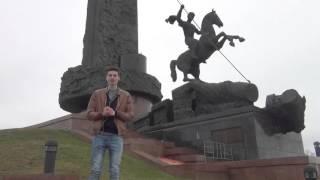 В сердце города. Монумент Победы