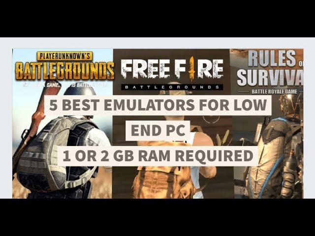 5 Best Emulators for low end PC without graphics card / Low end Laptops/ best emulators