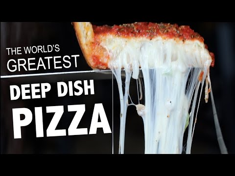 WE FOUND THE BEST DEEP DISH PIZZAS ????IN CHICAGO