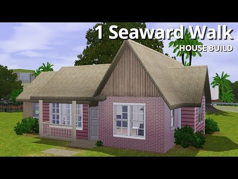 The Sims 3 House Building - 1 Seaward Walk - Aluna Island