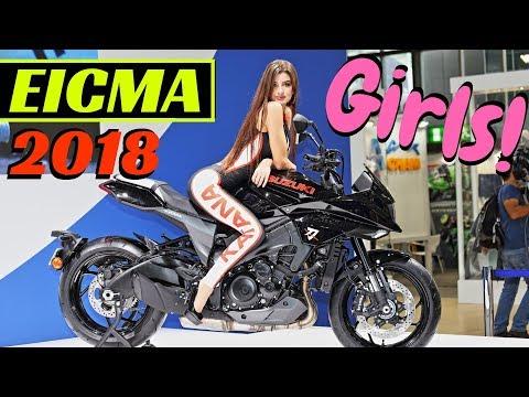 EICMA Milano 2018 Girls, Girls, Girls!!! (Ragazze) - Parte 1 - Worldwide Motorcycle Exhibition