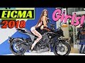 EICMA Milano 2018 Girls, Girls, Girls!!! (Ragazze) - Parte 1 - Worldwide Motorcycle Exhibition