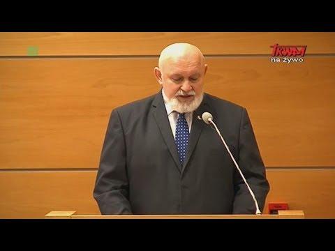 Inauguracja Roku Akademickiego w WSKSIM: list od marszałka Senatu