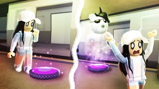 GHOSTY & BUDGEY TELEPORT TROLLING! (Roblox Piggy)
