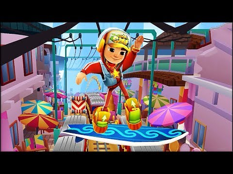 Wordy Weekend: Name Hunting with Jake - Subway Surfers: Bali