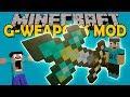 G-WEAPONS MOD - La tengo enorme!! (osea la espada :v) - Minecraft mod 1.12.2 Review