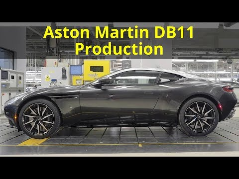 Aston Martin DB11 Production