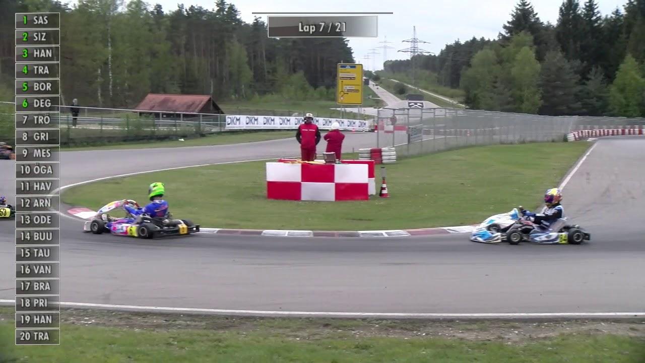 Dkm2019 Deutsche Kart Meisterschaft Wackersdorf Dkm Rennen 1