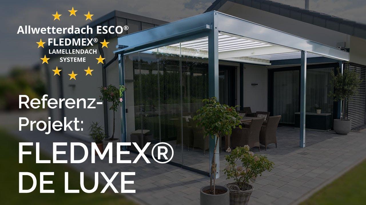 Lamellendach Fledmex Standard Youtube