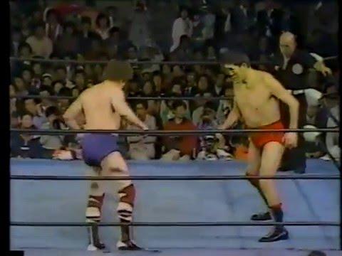 Terry Funk vs Giant Baba (04/24/1980)