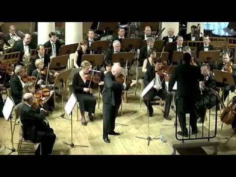 Benjamin Lees Violin Concerto 1st Mvt. Part 1