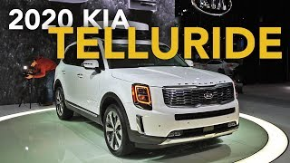 2020 Kia Telluride First Look - 2019 Detroit Auto Show