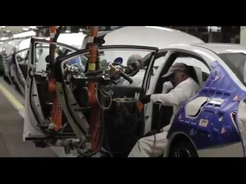 proses produksi mobil honda accord - YouTube