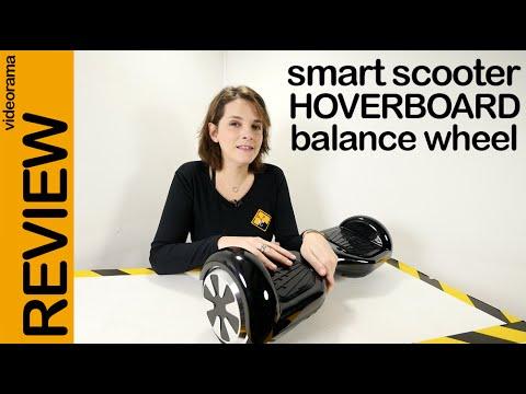 Smart Scooter Hoverboard review en español