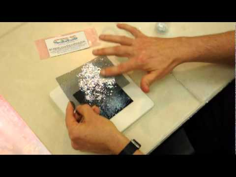 Fusing with Dichroic Coated Copper Foil - YouTube