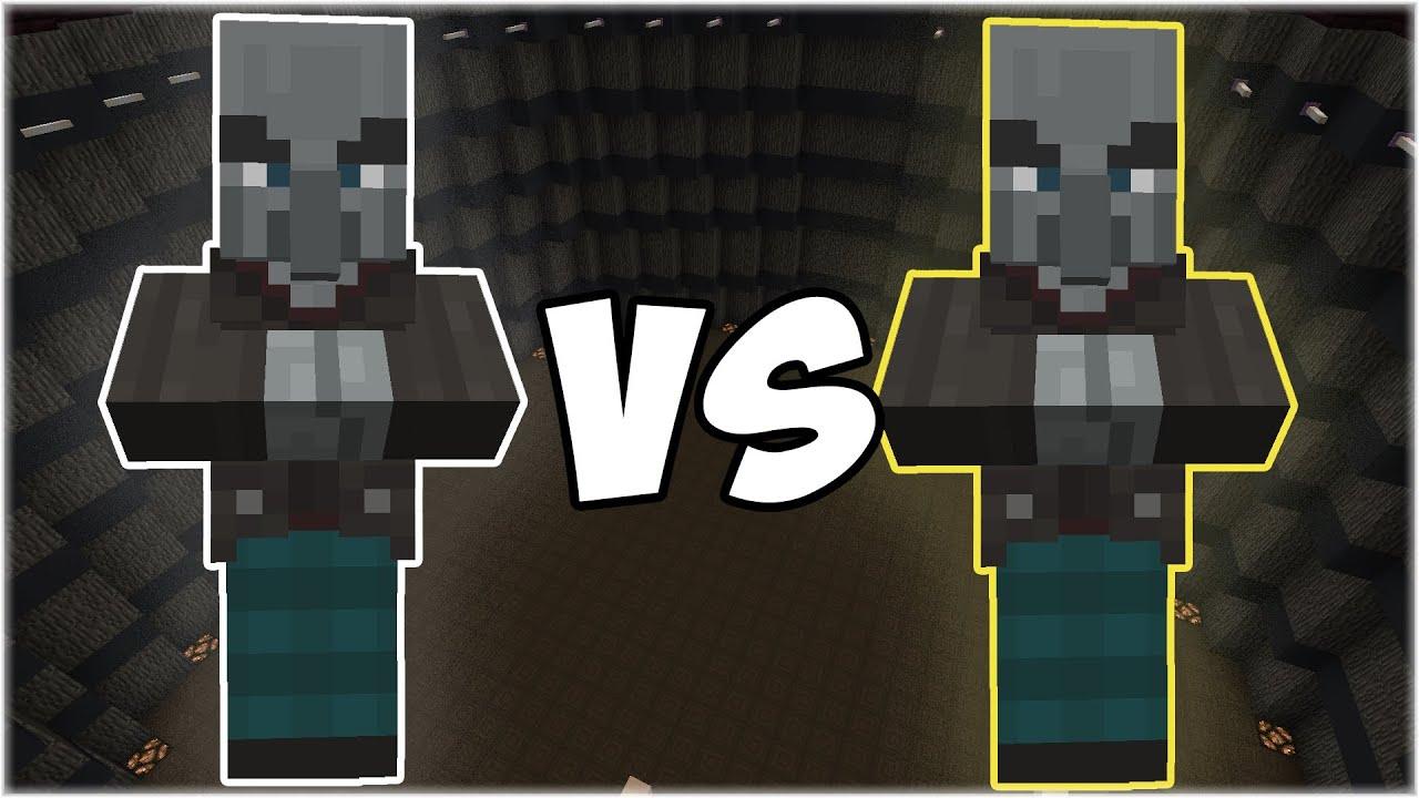 Vindicator vs Vindicator - Minecraft Mob Battle