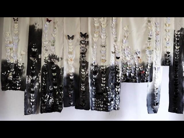 Loewe Butterfly installation