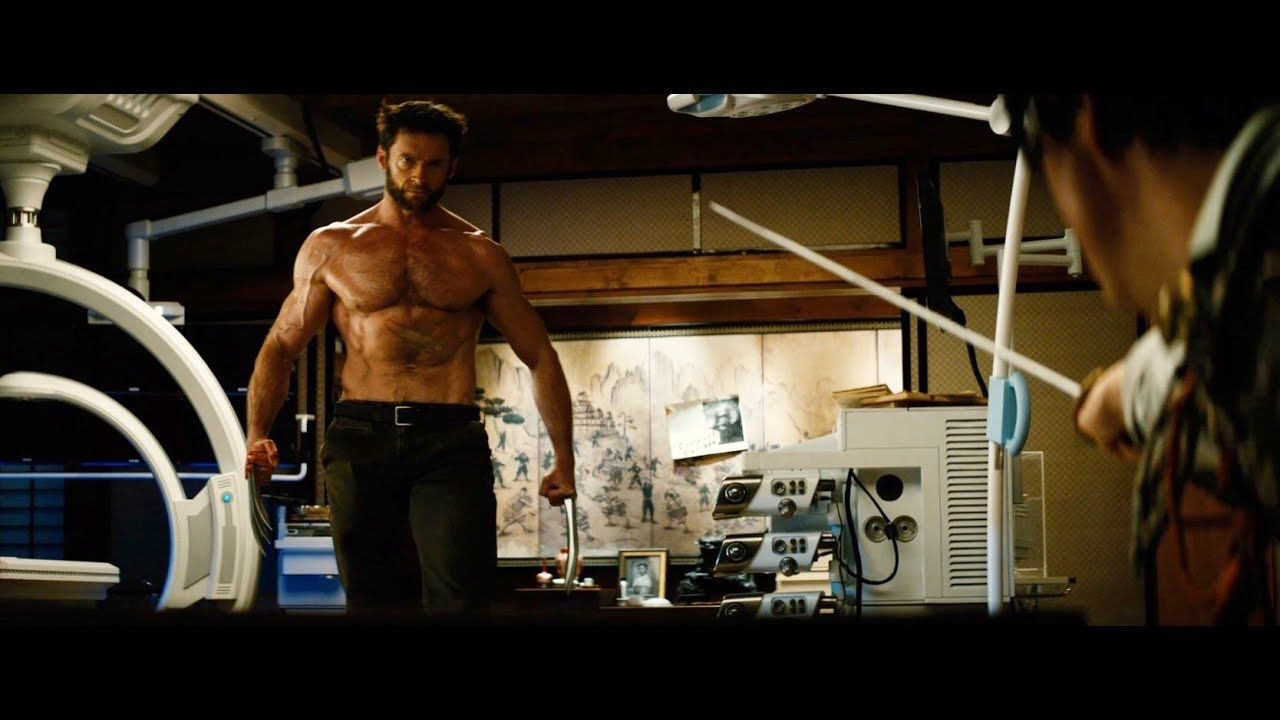 Download The Wolverine fight scene in  Hindi