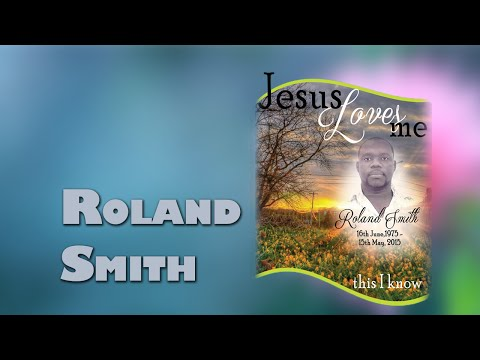 Funeral Service for the late Roland Smith