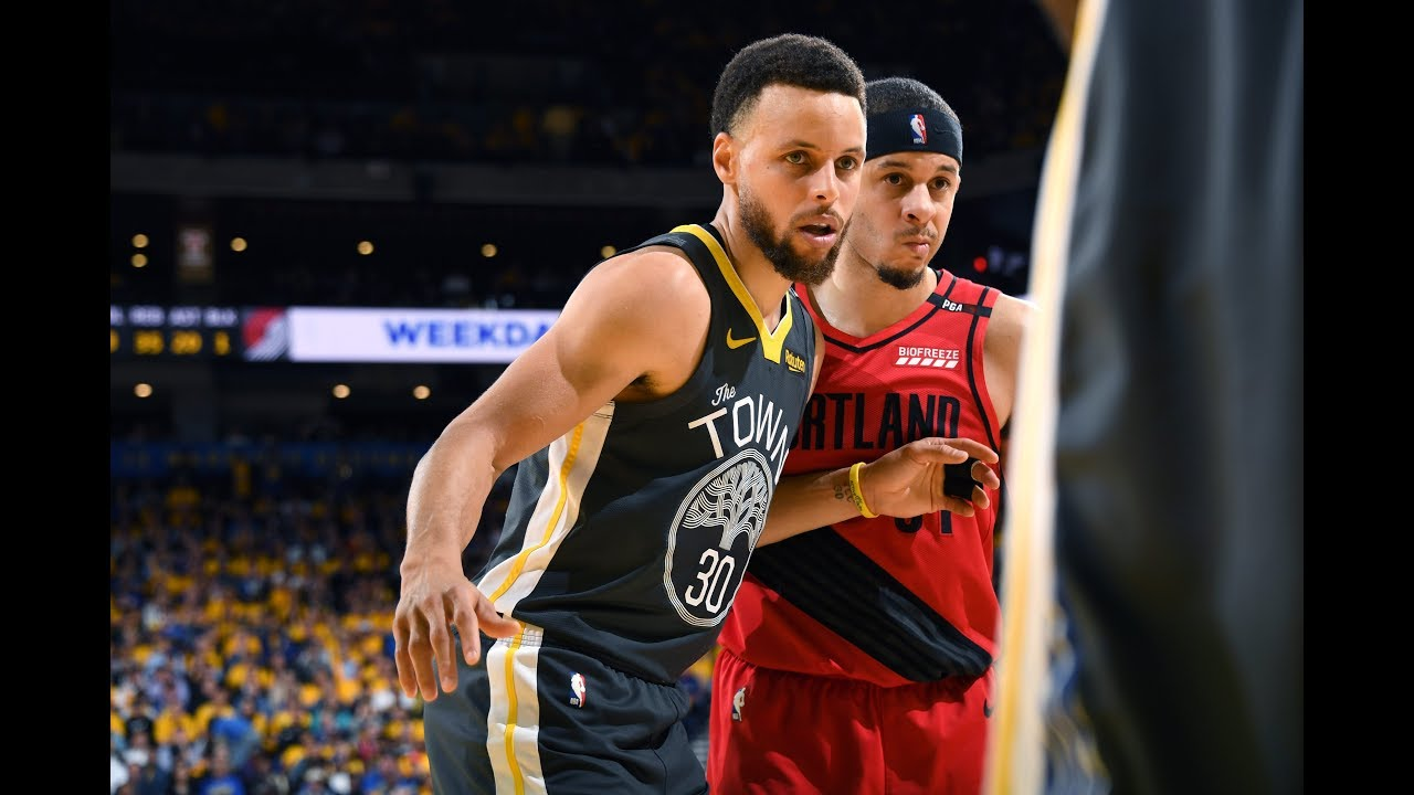4247c5e9021 Seth Curry vs. Stephen Curry Game 2   WCF - YouTube