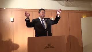 立花孝志 地元の泉大津市で講演させて頂きました