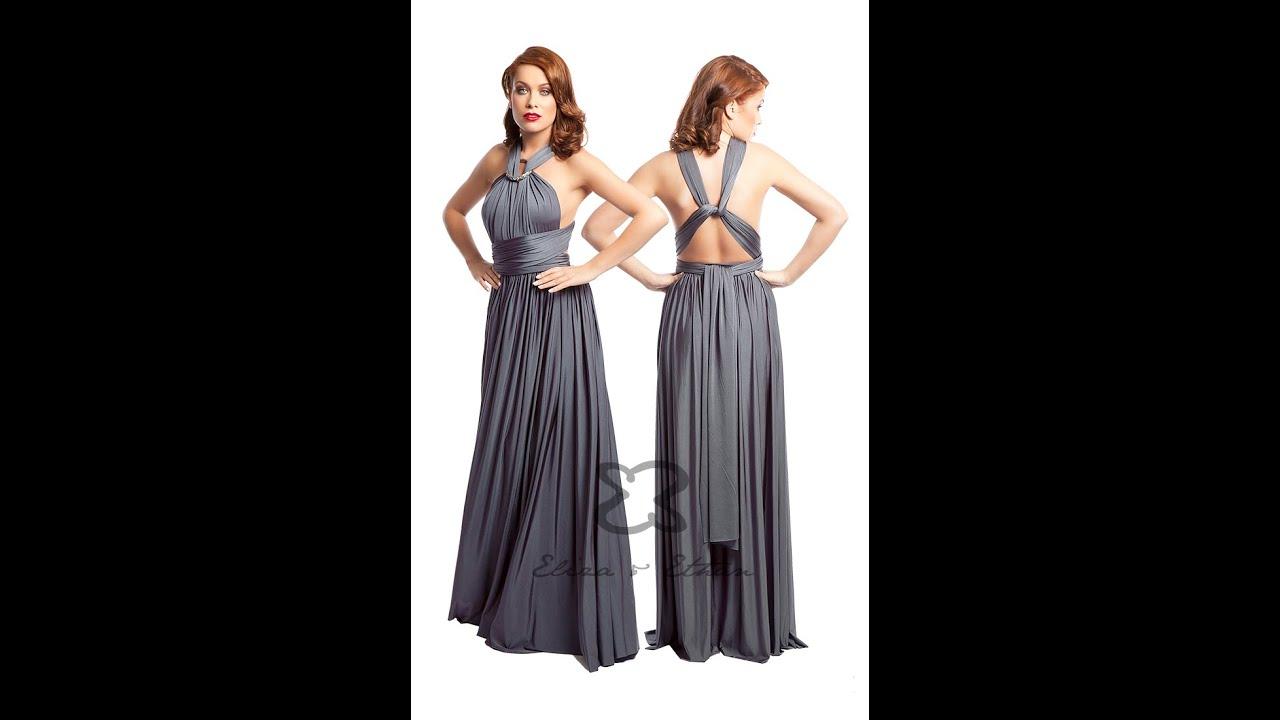 c8e196295521 Eliza & Ethan Multi-Wrap Dress Tutorial - Style 19 - YouTube