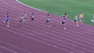 Ht4. 100m Women, Gary Brown Shield, QSAC 11/03/2017 2017 Video