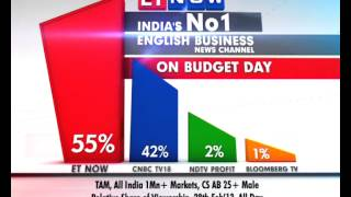 ET NOW is India's No.1 English Business News Channel