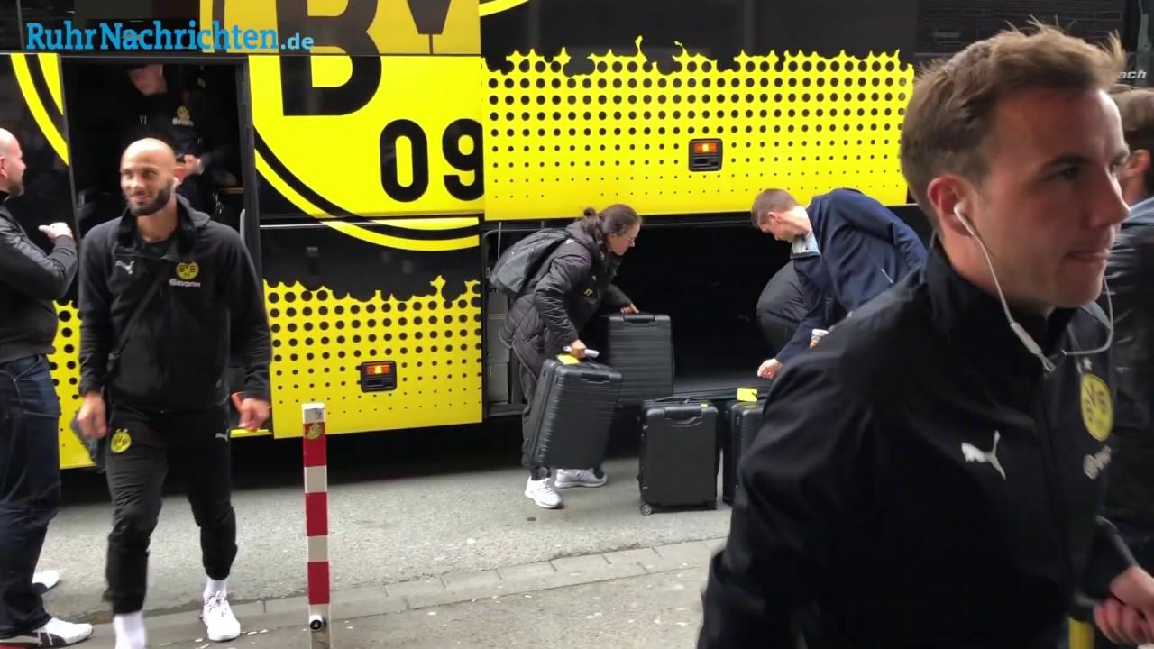 Der BVB mit Reus auf dem Weg nach Bremen