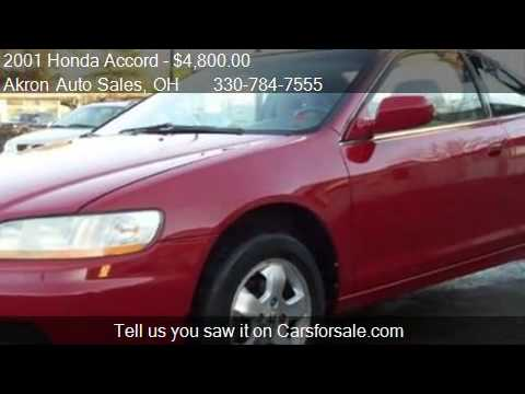 2001 honda accord ex auto for sale in akron oh 44312 youtube. Black Bedroom Furniture Sets. Home Design Ideas