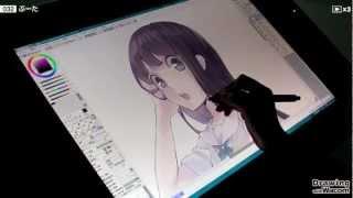 イラストレーター ぶーた - Drawing with Wacom (DwW)