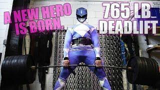 The Strongest Power Ranger Can Deadlift 800lb+?!