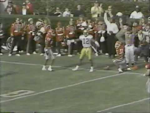 Repeat Gary Lee Kickoff Return, Tech-Georgia Football 1985