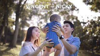Filming Art | Vincent & Nicky_Same Day Edit by Signature Director