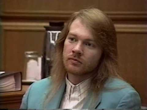 Axl Rose in court (Part 2/2)