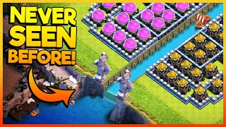 RIVER BETWEEN THE CLASH OF CLANS BASE - NEW UPDATED CoC BASE